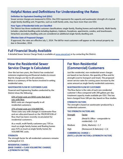 May 2014 Proposition 218 Rate Notice - Page 2