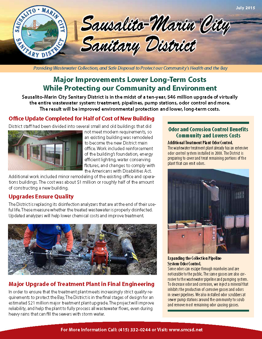 July 2015 Newsletter - Page 1